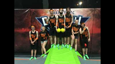 Trampoline Dodgeball League